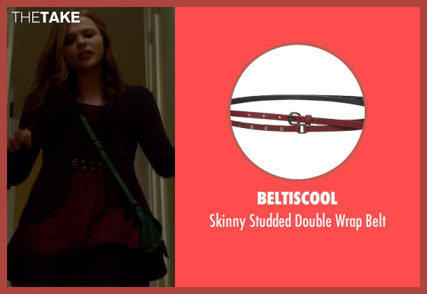 Beltiscool red belt from If I Stay seen with Chloë Grace Moretz (Mia Hall)