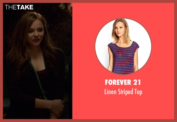 Forever 21 red top from If I Stay seen with Chloë Grace Moretz (Mia Hall)