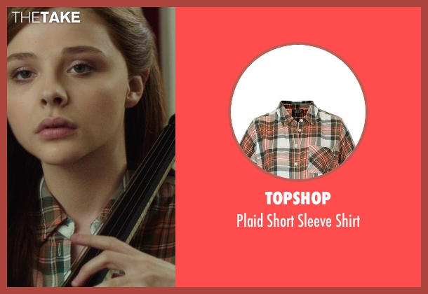 Topshop shirt from If I Stay seen with Chloë Grace Moretz (Mia Hall)