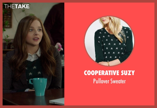 Cooperative Suzy sweater from If I Stay seen with Chloë Grace Moretz (Mia Hall)