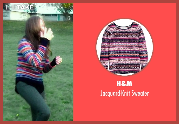 H&M sweater from If I Stay seen with Chloë Grace Moretz (Mia Hall)