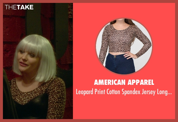 American Apparel top from If I Stay seen with Chloë Grace Moretz (Mia Hall)