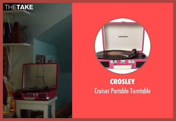 Crosley turntable from If I Stay seen with Chloë Grace Moretz (Mia Hall)