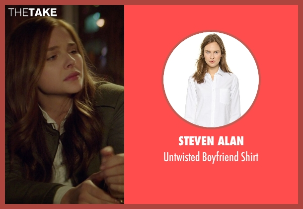 Steven Alan white shirt from If I Stay seen with Chloë Grace Moretz (Mia Hall)