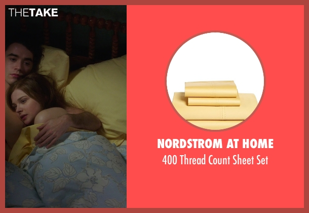 Nordstrom at Home yellow set from If I Stay seen with Chloë Grace Moretz (Mia Hall)