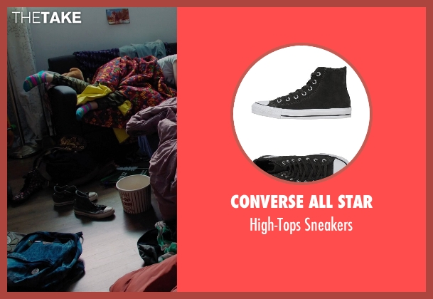 Converse All Star black sneakers from Laggies seen with Chloë Grace Moretz (Annika)