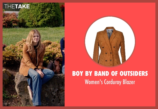 Boy by Band of Outsiders blazer from Laggies seen with Chloë Grace Moretz (Annika)