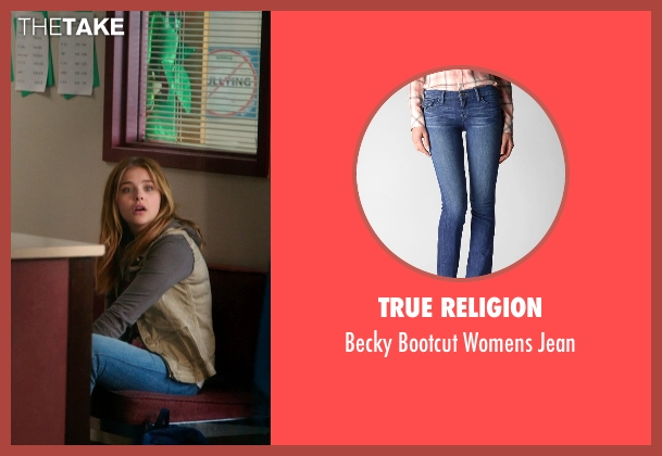 True Religion blue jean from Laggies seen with Chloë Grace Moretz (Annika)
