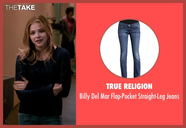 True Religion blue jeans from Laggies seen with Chloë Grace Moretz (Annika)