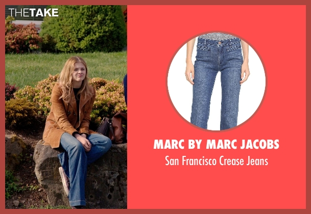 Marc by Marc Jacobs blue jeans from Laggies seen with Chloë Grace Moretz (Annika)