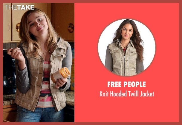 Free People jacket from Laggies seen with Chloë Grace Moretz (Annika)