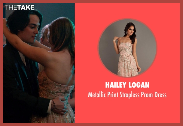 Hailey Logan pink dress from Laggies seen with Chloë Grace Moretz (Annika)