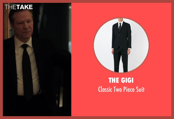 The Gigi black suit from Demolition seen with Chris Cooper (Phil)