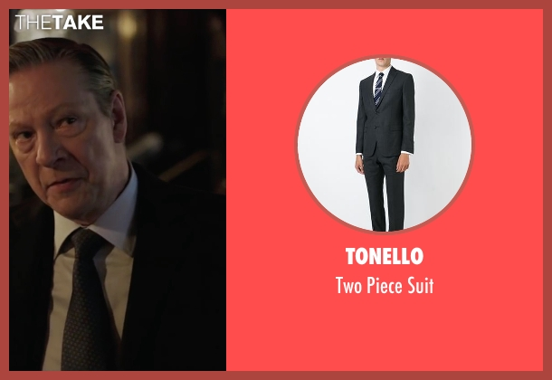 Tonello black suit from Demolition seen with Chris Cooper (Phil)