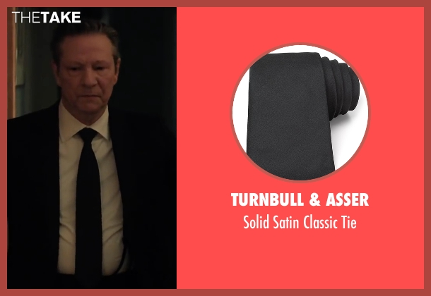 Turnbull & Asser black tie from Demolition seen with Chris Cooper (Phil)