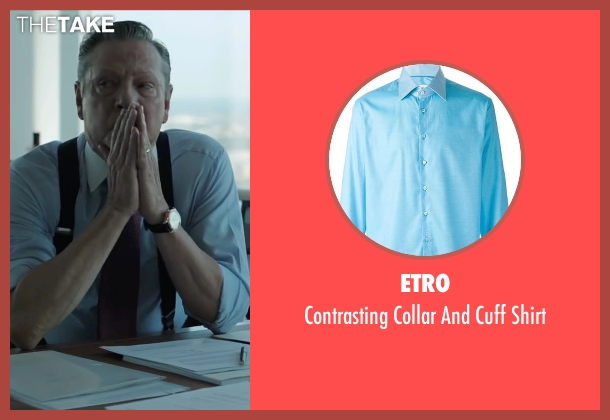 Etro blue shirt from Demolition seen with Chris Cooper (Phil)