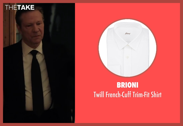 Brioni white shirt from Demolition seen with Chris Cooper (Phil)
