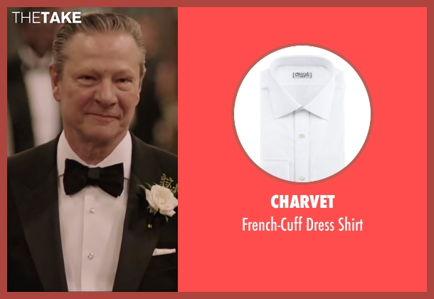 Charvet	 white shirt from Demolition seen with Chris Cooper (Phil)