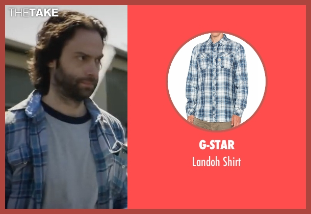 G-Star blue shirt from XOXO seen with Chris D'Elia (Neil)