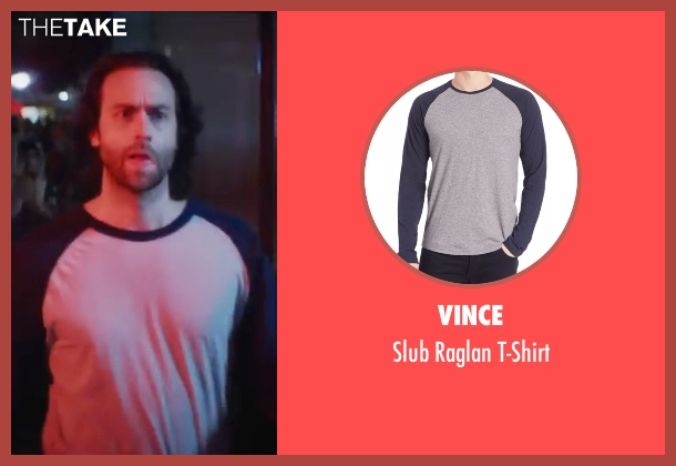Vince gray t-shirt from XOXO seen with Chris D'Elia (Neil)