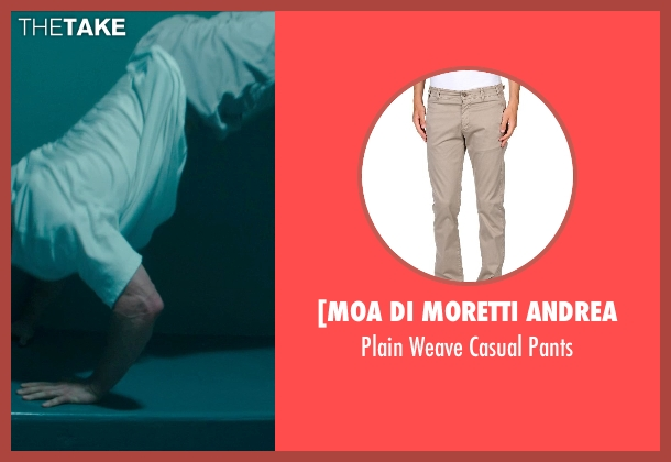 [Moa Di Moretti Andrea beige pants from Blackhat seen with Chris Hemsworth (Nicholas Hathaway)