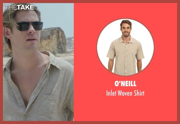 O'Neill beige shirt from Blackhat seen with Chris Hemsworth (Nicholas Hathaway)