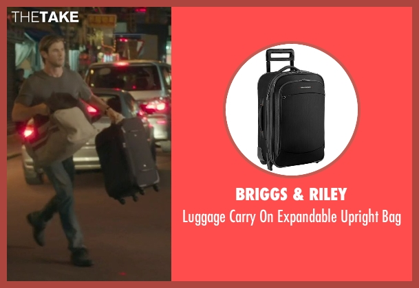 Briggs & Riley black bag from Blackhat seen with Chris Hemsworth (Nicholas Hathaway)