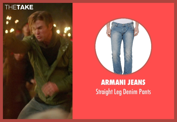 Armani Jeans blue pants from Blackhat seen with Chris Hemsworth (Nicholas Hathaway)