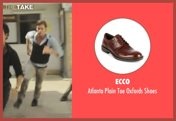 Ecco brown shoes from Blackhat seen with Chris Hemsworth (Nicholas Hathaway)