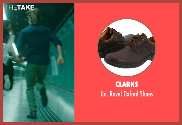 Clarks brown shoes from Blackhat seen with Chris Hemsworth (Nicholas Hathaway)