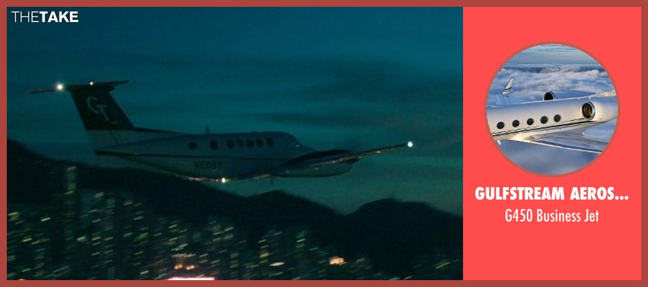 Gulfstream Aerospace jet from Blackhat seen with Chris Hemsworth (Nicholas Hathaway)