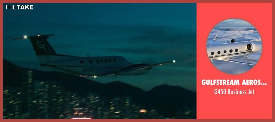 Gulfstream Aerospace jet from Blackhat seen with Chris Hemsworth (Nicholas Hathaway)