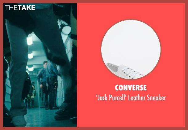 Converse white sneaker from Blackhat seen with Chris Hemsworth (Nicholas Hathaway)