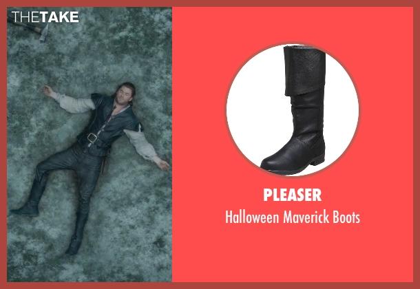 Pleaser black boots from The Huntsman: Winter's War seen with Chris Hemsworth (The Huntsman)