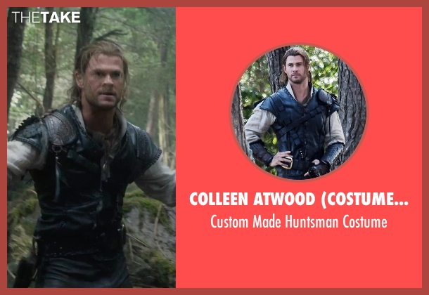 Colleen Atwood (Costume Designer) costume from The Huntsman: Winter's War seen with Chris Hemsworth (The Huntsman)