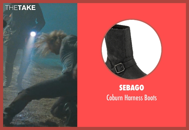 Sebago black boots from Thor seen with Chris Hemsworth (Thor)