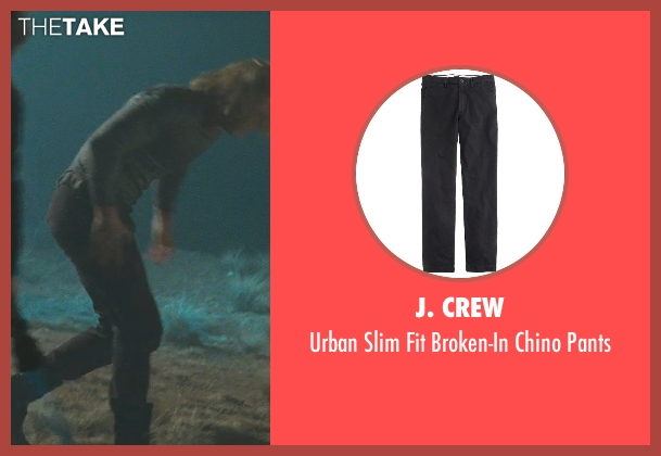 J. Crew black pants from Thor seen with Chris Hemsworth (Thor)