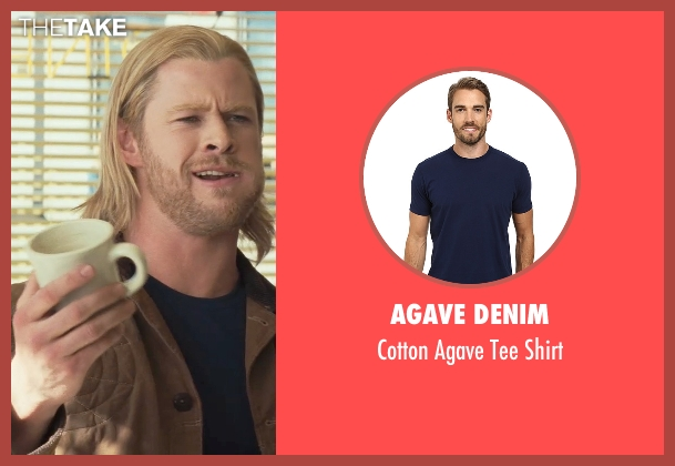 Agave Denim blue shirt from Thor seen with Chris Hemsworth (Thor)