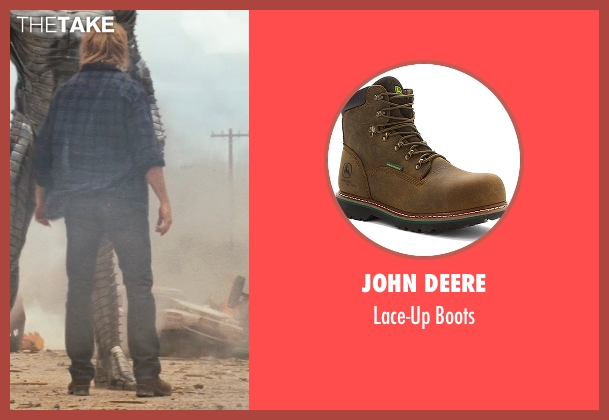 John Deere brown boots from Thor seen with Chris Hemsworth (Thor)