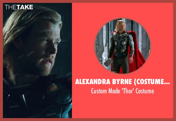 Alexandra Byrne (Costume Designer) costume from Thor seen with Chris Hemsworth (Thor)
