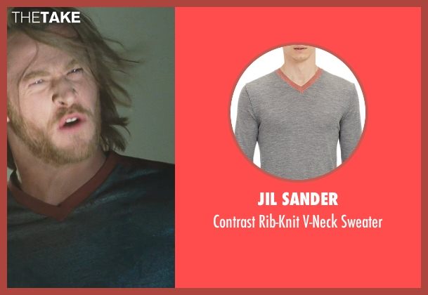 Jil Sander gray sweater from Thor seen with Chris Hemsworth (Thor)