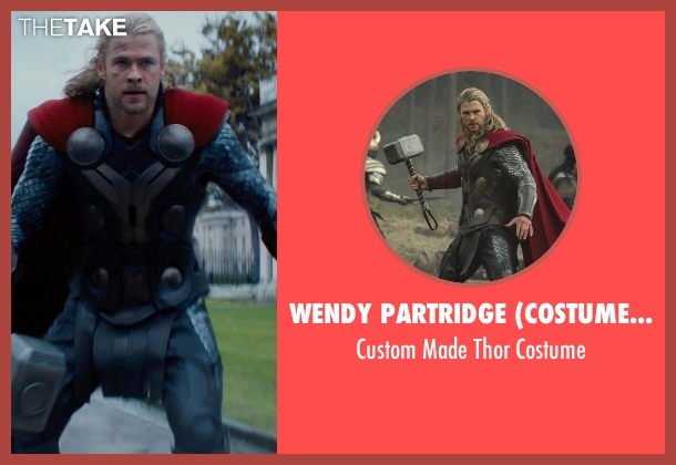 Wendy Partridge (Costume Designer) costume from Thor: The Dark World seen with Chris Hemsworth (Thor)