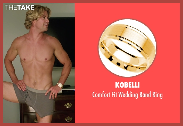Kobelli ring from Vacation seen with Chris Hemsworth (Stone Crandall)