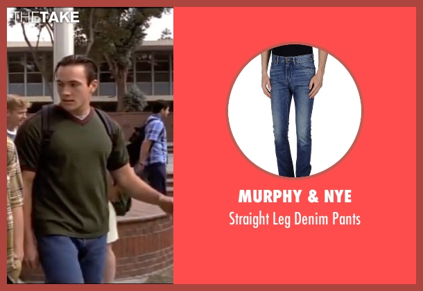 Murphy & Nye blue pants from American Pie seen with Chris Klein (Chris 'Oz' Ostreicher)