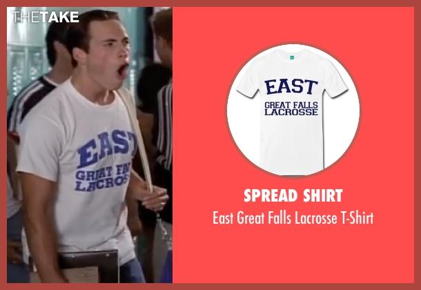 Spread Shirt white t-shirt from American Pie seen with Chris Klein (Chris 'Oz' Ostreicher)