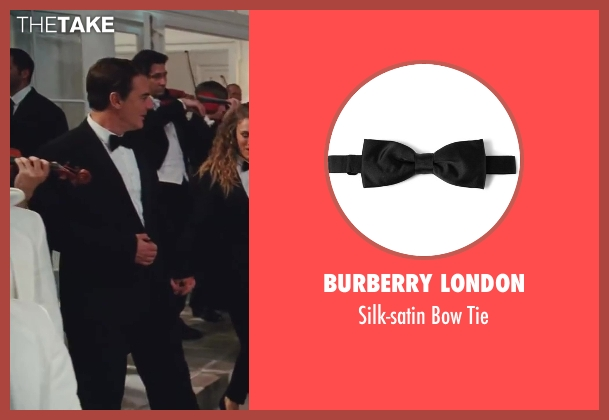 Burberry London black tie from Sex and the City 2 seen with Chris Noth (Mr. Big)