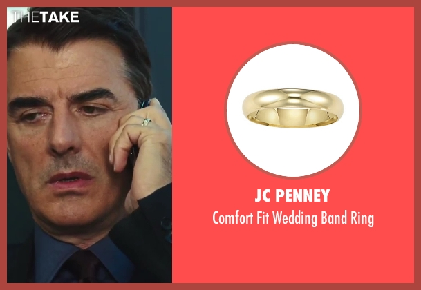 JC Penney ring from Sex and the City 2 seen with Chris Noth (Mr. Big)