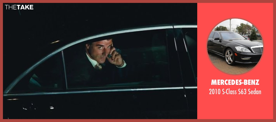 Mercedes-Benz sedan from Sex and the City 2 seen with Chris Noth (Mr. Big)