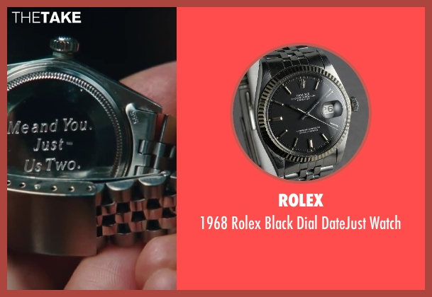 Rolex silver watch from Sex and the City 2 seen with Chris Noth (Mr. Big)