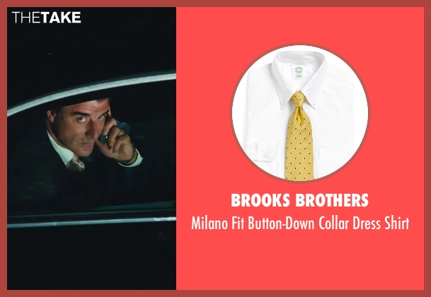 Brooks Brothers white shirt from Sex and the City 2 seen with Chris Noth (Mr. Big)
